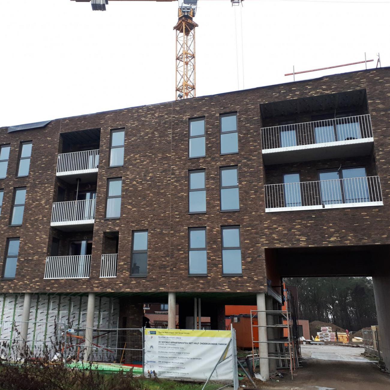 Nieuwbouw appartement te gent ld service alle maatwerk for Appartement gent